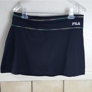 Fila black Athletic skort  Pants are in great used
